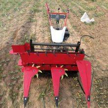 麦稻割晒机割台 手扶拖拉机带动辣椒大豆玉米秸秆前置式收割机