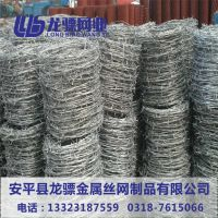 刺丝网围栏价格 滚笼刺丝 带刺铁丝网图片