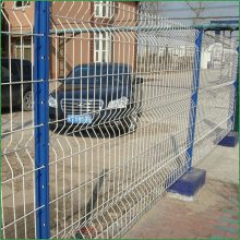 双边丝护栏网@工厂车间围网@小区建设防护网