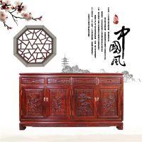 红木餐边柜/黑酸枝沙发系列/餐厅家具系列