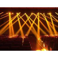 厂家直销 虹美 330w 摇头图案光束灯 LED三合一舞台酒吧婚庆效果灯光 炫酷旋转灯光
