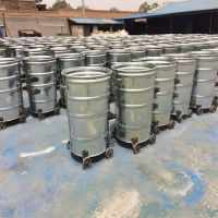 献县鑫建供应户外垃圾桶 环卫垃圾箱 铁皮挂车垃圾桶厂家直销