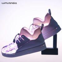 直销七彩闪光灯发光鞋新款男女款板鞋情侣usb充电led灯光夜光鞋子