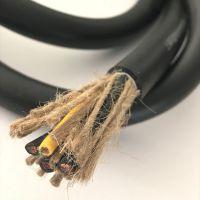 电解车间行车用电缆2/3/4芯1.0/1.5/10平方 防酸碱耐温抗拉伸软电缆