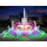 广场音乐喷泉 水幕电影 水幕激光秀 水景喷泉工程