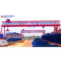 河南巩义项目两100吨龙门吊试吊成功
