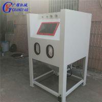 1010普压手动干式喷砂机环保型喷砂设备五金铝材亚克力手动喷砂机