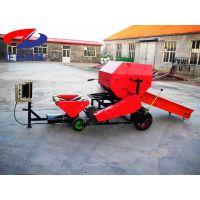 玉米秸秆青贮打包机 重庆牛羊饲料牧草青贮打捆机