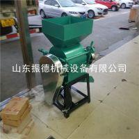 振德牌 ZD12-20家用型电动破碎机 多功能花生米碎粒机 粮食磕瓣机 价格