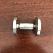 新云 不锈钢广告钉/装饰镜钉/玻璃固定钉螺丝M8x30x30(非标订做)