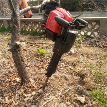 汽油冲击式挖树机 小型铲头断根机 贵州移苗起树机