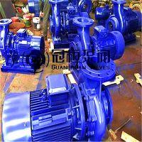 清水卧式离心泵ISW65-100 25M3/H 扬程12.5M 1.5KW 天津武清县冠桓泵阀