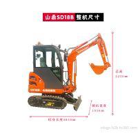 五一特供 质优价廉的微型挖掘机 山鼎农用微型挖掘机