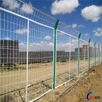 厂家供应浸塑绿色铁丝网 带方管边框农场护栏网