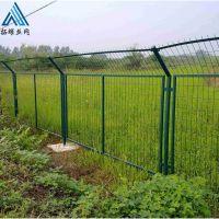 绿色浸塑果园铁丝围栏网价格框架护栏网