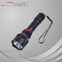 厂家直销 美之臣8800 LED强光充电手电筒 大功率 锂电手电筒