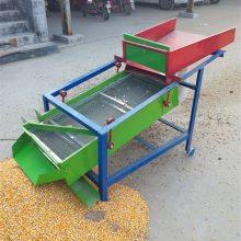 新款玉米大豆小麦种子振动筛 粮食筛选机 颗粒筛选机