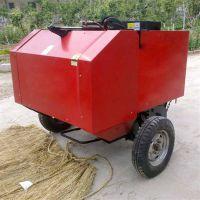 河南邓州小麦秸秆回收利用捡拾打捆机 一机多用秸秆捡拾打捆机