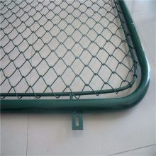 加工涂塑勾花网 养猴子防撞网 编织护栏网