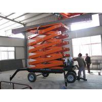 SJY-4m型升降平台 载重2000kg 物流货物运输用 亚重牌 移动式升降平台