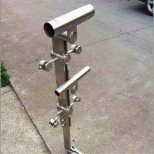 金裕 201/304/316不锈钢地铁栏杆护栏,不锈钢地铁玻璃立柱