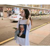 深圳便宜女装上衣夏季纯棉T恤韩版时尚女士短袖批发深圳厂家直批3元起