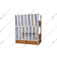 广东上下铺双层床 艾尚家具楼梯设计安全 超高护栏