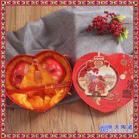 婚庆套碗结婚碗筷套装女方陪嫁套装对碗红碗喜碗筷子结婚庆用品