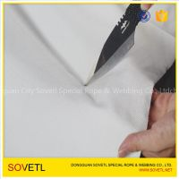 Woven UHMWPE fabric no resin stab resistant uhmw fibre strong cloth 180gsm