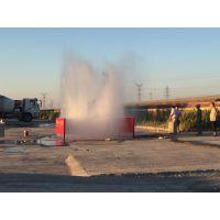 吐鲁番工地大门口洗车喷淋设备价格 新疆工地洗轮机厂家低价直销