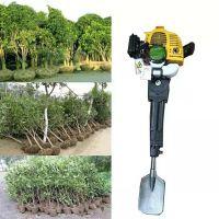 树木苗木移栽断根机 绿化移植手提式起树机 冲击式苗圃起苗机价格