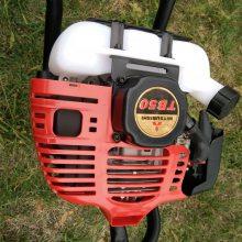 优质山东便携式挖坑机硬地土地钻洞机手提园林种植机正品畅销