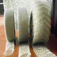 双层耐酸碱气液过滤网 不锈钢针织压波纹气液过滤网厂家