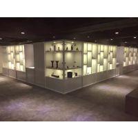 厦门古玩展示柜,古懂展柜新款造型,字画展示柜,古玩城展示柜定做价格