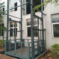 钦州液压式升降货梯定制 3吨导轨链条式升降货梯
