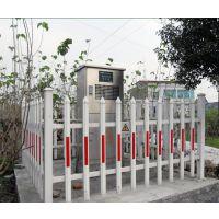 PVC材质塑钢护栏怎么样,武汉PVC草坪护栏厂,塑钢栏杆规格 道路 别墅安全栏 变压器围栏