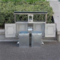 优质户外小区街道环卫分类垃圾桶 户外垃圾箱 厂家批发