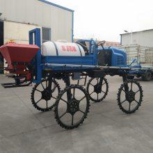 厂家推荐自走式施肥打药机水田专用喷雾器12米喷幅喷杆喷药车
