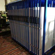 呼和浩特燃气管道存放 可调伸缩悬臂货架设计 材料仓库专用货架