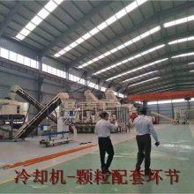 生物质能源颗粒机 秸秆木屑锯末颗粒机生产线厂家山东恒美百特