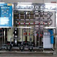 专供出口越南锂电池超纯水设备 日化制品超纯水设备采用EDI技术找晨兴