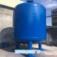 加工定制 天河区A3碳钢内刷防腐树脂胶过滤罐 水处理净化过滤罐