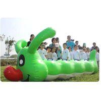 充气趣味运动会龟兔赛跑 毛毛虫户外亲子游戏拓展训练器材 厂家直销运转乾坤充气球