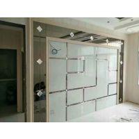 江苏南通 厂家定制异形玻璃背景墙欧式风格 诚招经销商