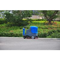 食品厂车间仓库用洗地机全自动驾驶式洗地机FR115-660