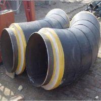 预制直埋保温固定节 高压钢套钢固定节聚氨酯保温弯头加工现货厂家