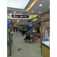 远韬北京超市入口感应门价格_全自动不锈钢单向摆闸门