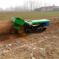 江苏鲁辰履带式施肥除草开沟机的价格 小型果园田园管理机