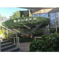 北京五环精诚伸缩雨棚厂家定制推拉帐篷车棚大排档移动推拉篷PVC围布