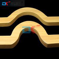 弧线铝方通吊顶材料 木纹铝方通价格 通风透气 层次分明